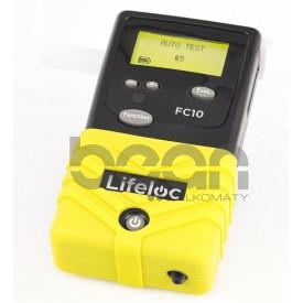 Kalibracja alkomatu LIFELOC FC10 z Certyfikatem Kalibracji