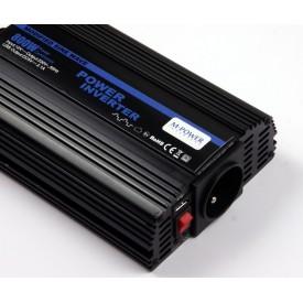 Przetwornica Napięcia 24V 230V 800W (1600W) z USB
