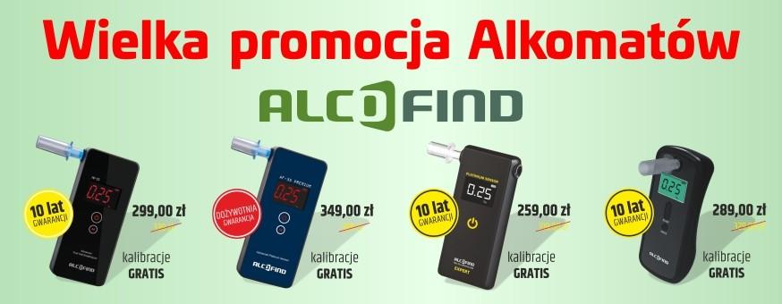 Wielka promocja alkomatów ALCOFIND