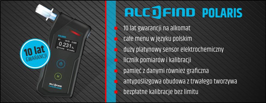 Alkomat AlcoFind POLARIS