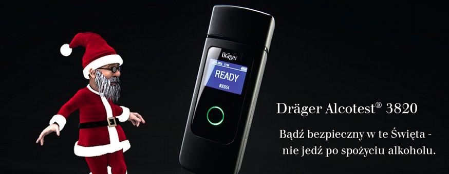 Alkomat Drager 3820 prezent na święta